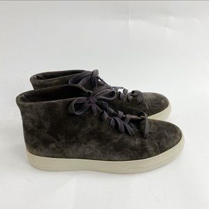 Vince Cullen Suede Leather High Top Sneaker